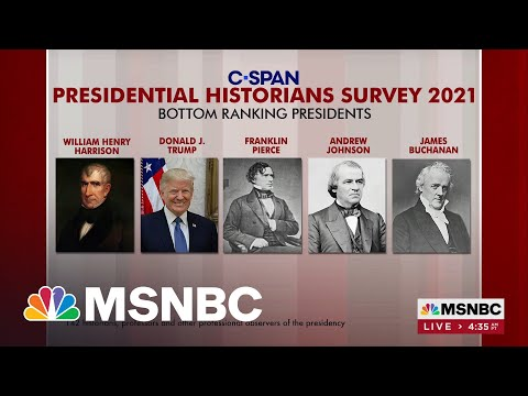 Trump Ranks Among The Worst Presidents In History, According To Survey 1