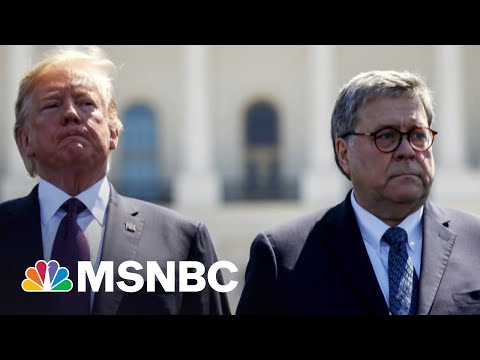 Book Details AG Barr's Realization That Trump Would Lose The Election 3