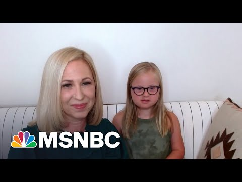 Ten-Year-Old Model With Down Syndrome, Mom Share Their Message | MSNBC 1