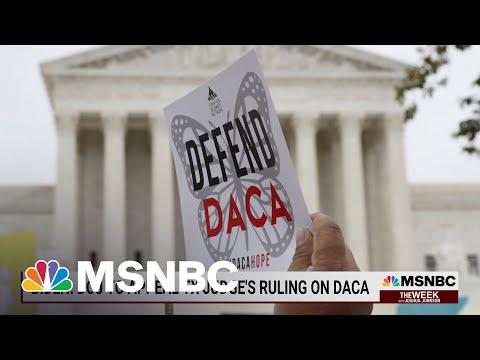 Federal Judge Declares DACA 'Unlawful'   MSNBC 1