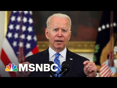 Biden: 'We Brought This Economy Back From The Brink'   MSNBC 1