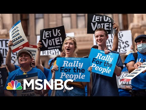 Democrats Take National Voting Rights Fight On The Road 1