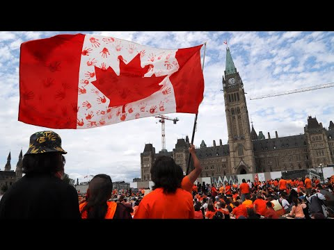 Canada Day celebrations scaled back as the nation reflects 9