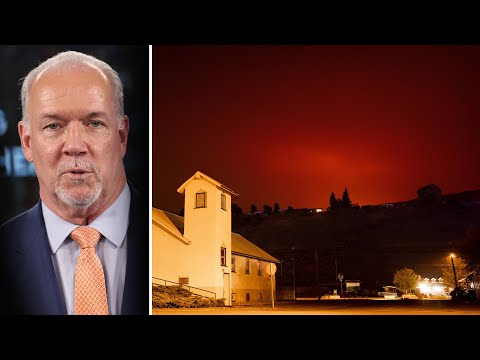 'Weather forecasts are grim': Horgan on wildfires | State of emergency declared in B.C. 6