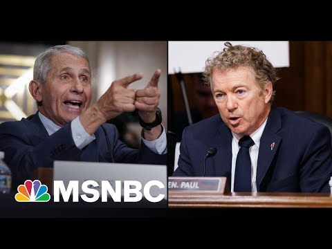 Rand Paul Threatens Fauci With Criminal Referral After Heated Clash 2