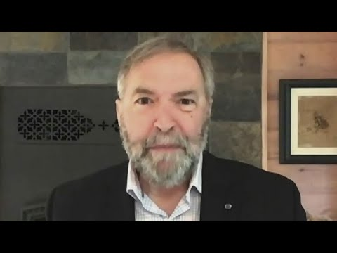 Mulcair blasts May: Put out the 'worst non-denial denial' he's ever seen 1