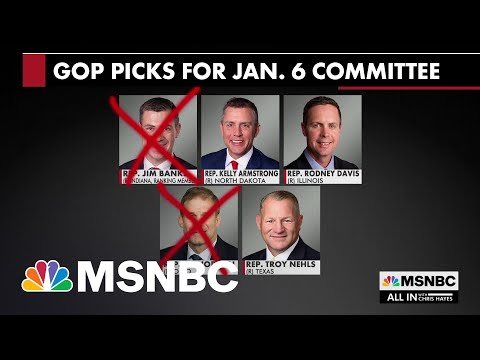 Pelosi Nixes GOP Reps Nominated For Jan. 6 Committee Who Would Back Trump 1