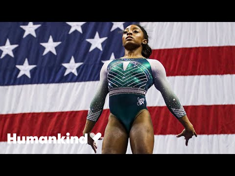Simone Biles adoption shows the strength of family | Winning Teams | Humankind 1