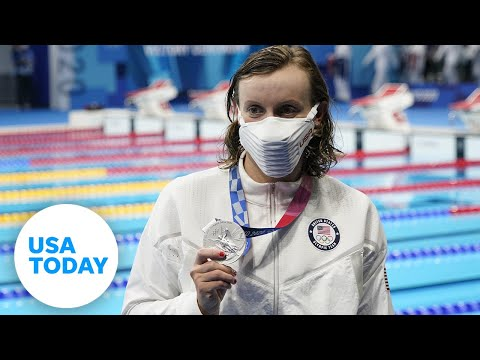 Katie Ledecky gets silver, two US golds in skeet shooting, Simone Biles is back Tuesday | USA TODAY 8