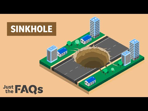 From Florida to New York, here's why sinkholes continue to happen   Just the FAQs 1