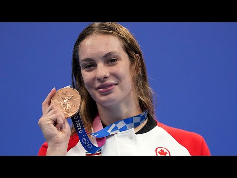 Penny Oleksiak is Canada's most decorated summer Olympian 7