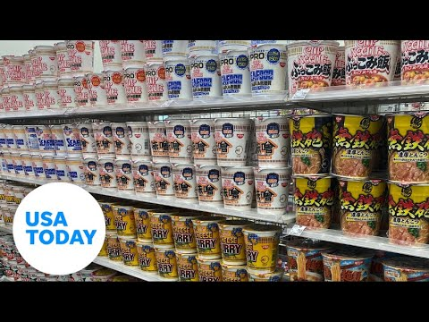 Adventures in a Japanese convenience store during the Tokyo Olympics | USA TODAY 5