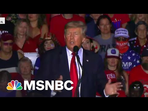 Trump Downplays Company's Tax Charges At Rally | MSNBC 4