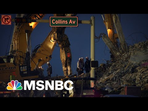 Surfside Condo Collapse Death Toll Climbs To 46| MSNBC 8