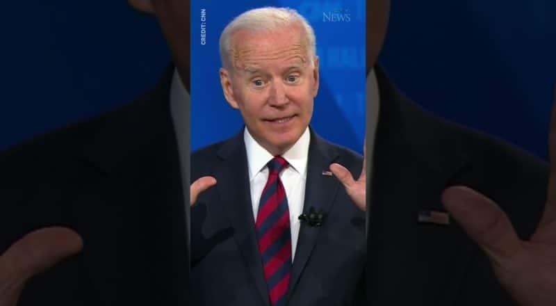 """""""I don't care if you think I'm Satan reincarnated"""": Biden #shorts 1"""