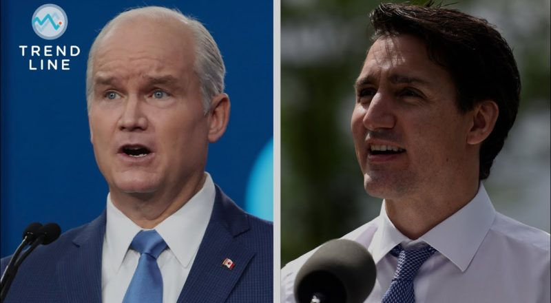 Trudeau or O'Toole? If an election is called, who would emerge as prime minister? | TREND LINE 6