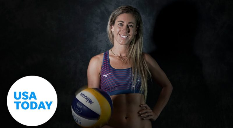 Beach volleyball player April Ross is seeking Olympic gold in Tokyo to complete her set | USA TODAY 7