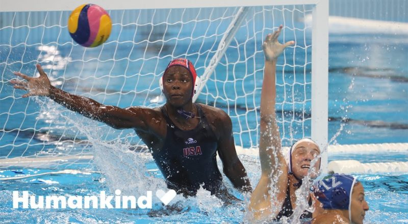 Olympian Ashleigh Johnson grew up with this as a reward | Winning Teams | Humankind 9