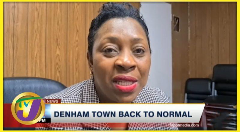 Denham Town Back to Normal | TVJ News - July 21 2021 1