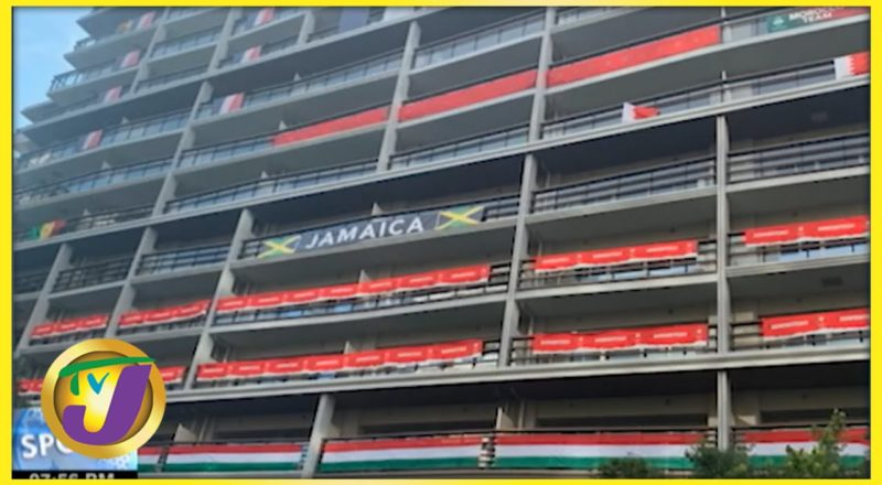 Jamaica's Team Accommodations at the Tokyo Olympics - July 22 2021 1