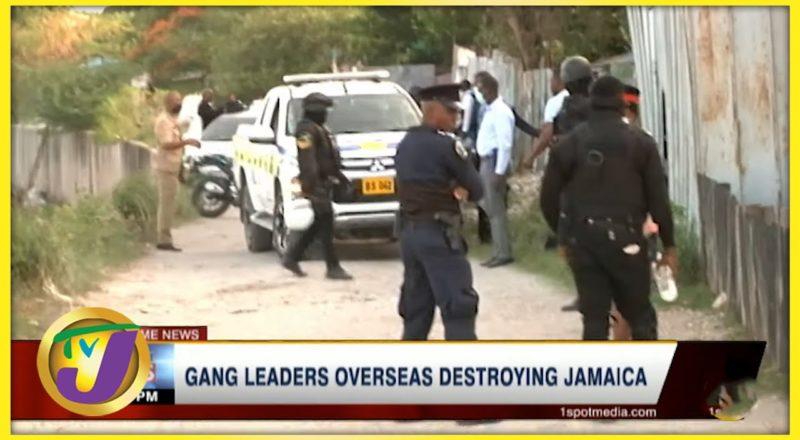 Gang Leaders Overseas Destroying Jamaica | TVJ News - July 22 2021 1