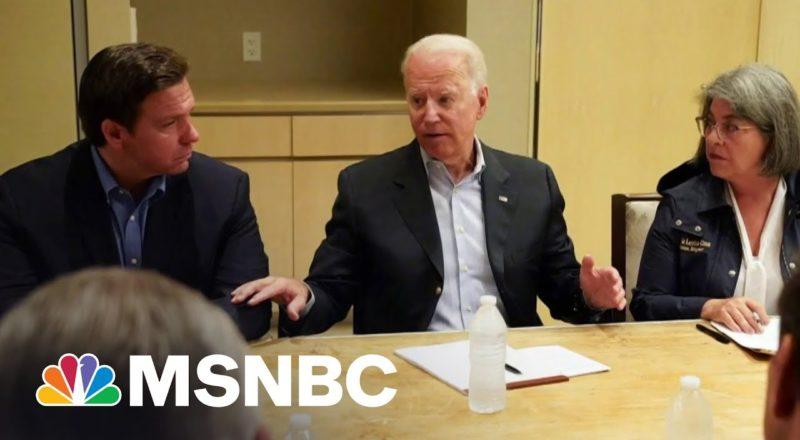 Biden Praises Bipartisan Recovery Efforts In Florida | MSNBC 1