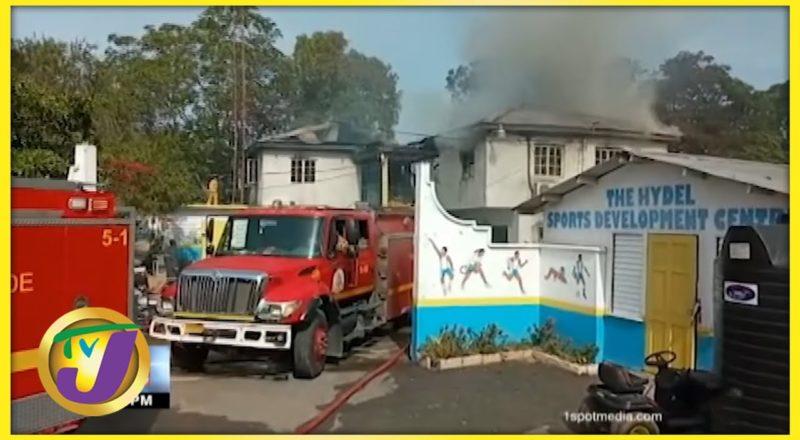 Fire Destroys Section of Hydel School in Jamaica | TVJ News - July 22 2021 1