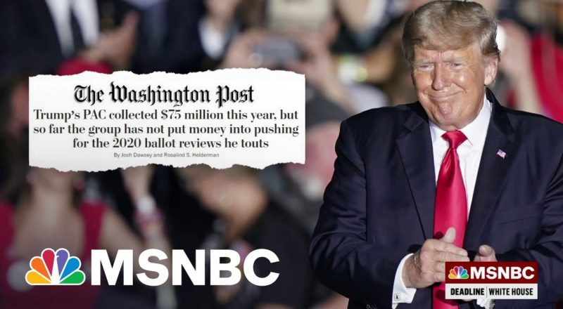 The Grift Goes On For Former President Trump | MSNBC 3