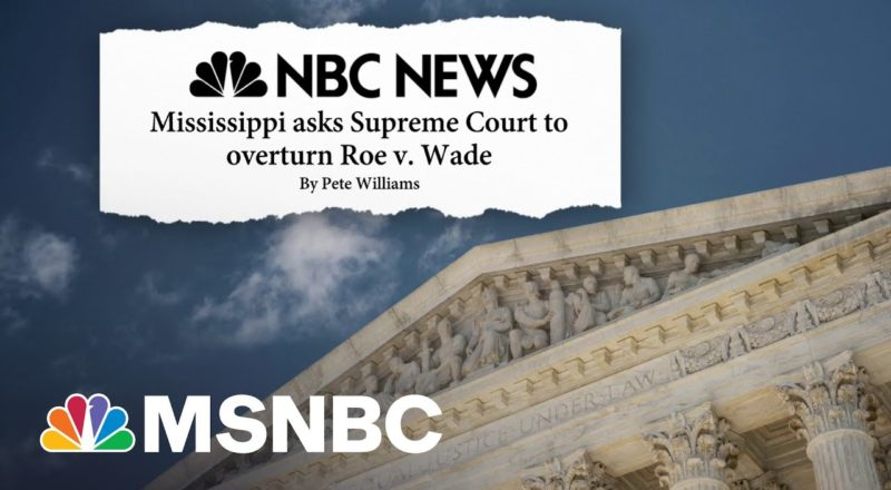 Trump's Impact On SCOTUS Continues As Mississippi Asks Court To Overturn Roe V. Wade 1