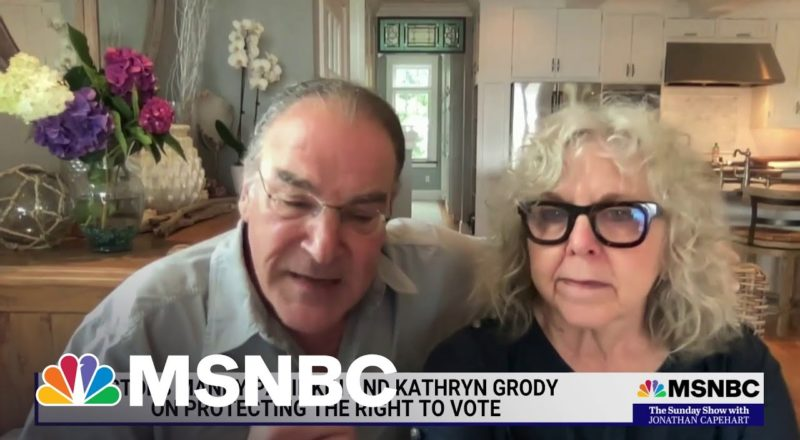 Actors Mandy Patinkin and Kathryn Grody On Saving Democracy in America 1