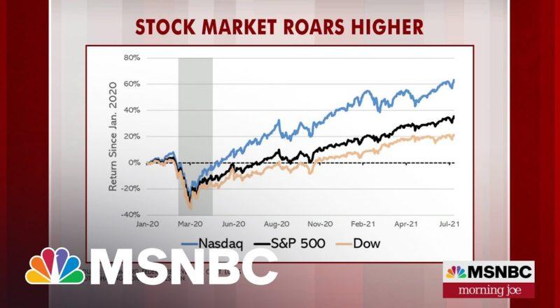 Stock Market Highs Owe A Lot To Washington, Says Steve Rattner | MSNBC 2