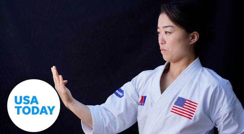 Sakura Kokumai wants karate to shine in its Olympic debut | USA TODAY 5