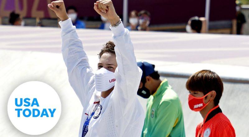 Jagger Eaton: Full bronze medal press conference, skateboarding | USA TODAY 2