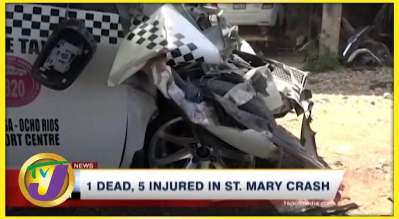 1 Dead, 5 Injured in St. Mary Crash | TVJ News - July 23 2021 1