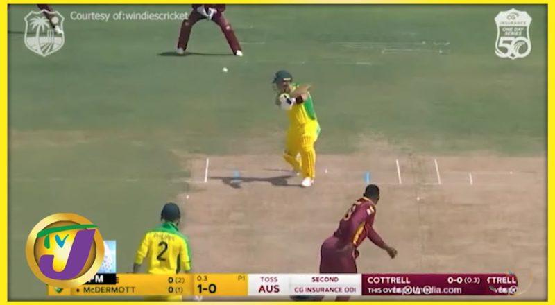 Windies Defeat Australia to Level Series - July 25 2021 1