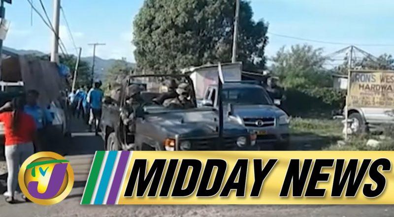 JCF - St. James ZOSO Police Officers Not Homeless   TVJ Midday News - July 26 2021 1