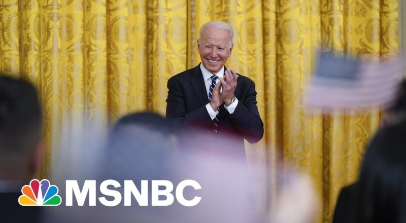 Biden Participates In Naturalization Ceremony At The White House 1