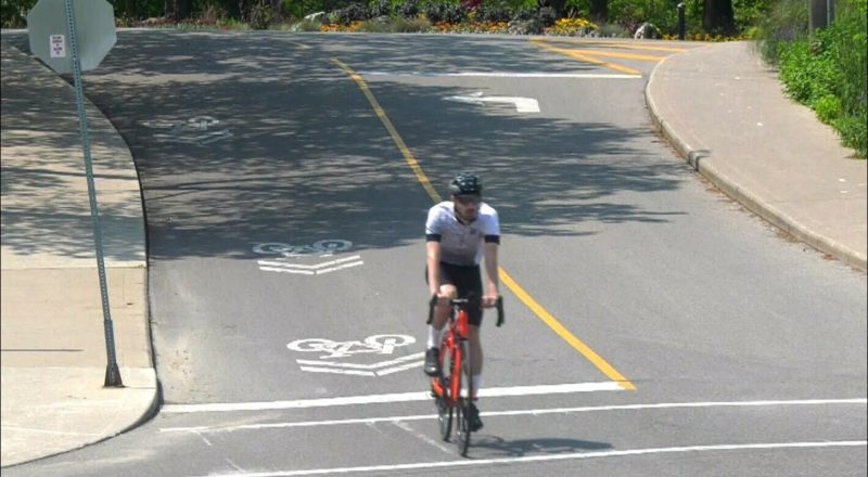 Cyclists are getting traffic tickets at Toronto's High Park 1