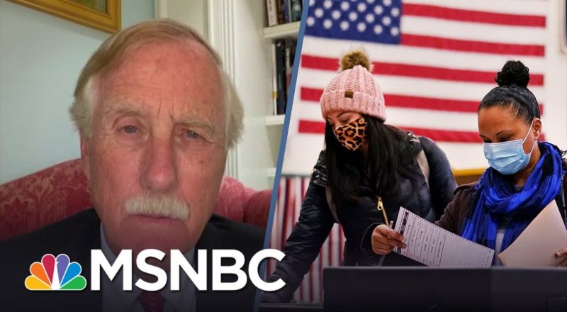 Sen. Angus King On Why Republicans Are Keeping People From Voting 1