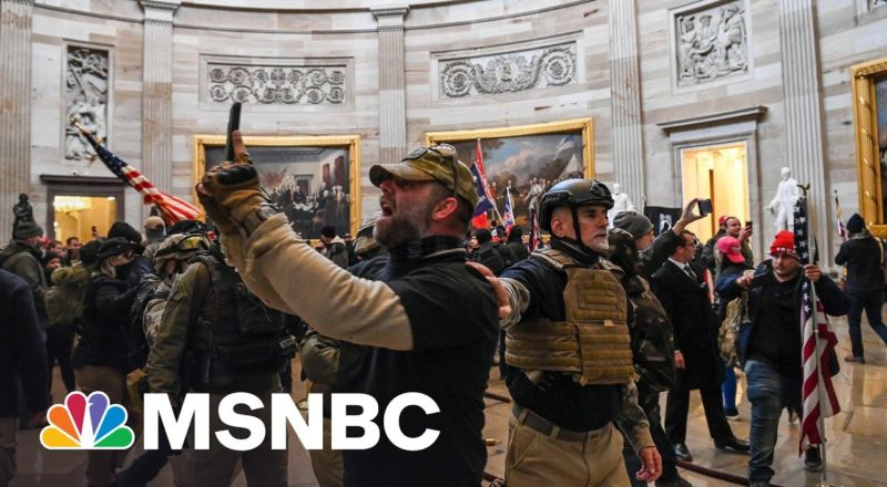 Jan. 6 Committee Shows New Video Of Capitol Riot 1