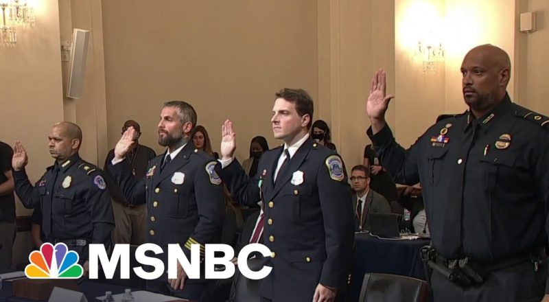 Capitol Police Officers Dismiss GOP Attempts To 'Downplay' Jan. 6 Attack 3