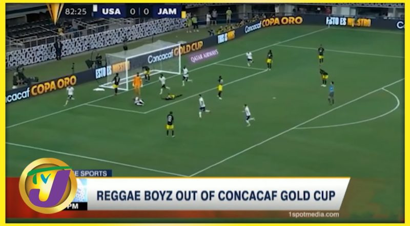 Reggae Boyz out of CONCACAF Gold Cup - July 26 2021 1
