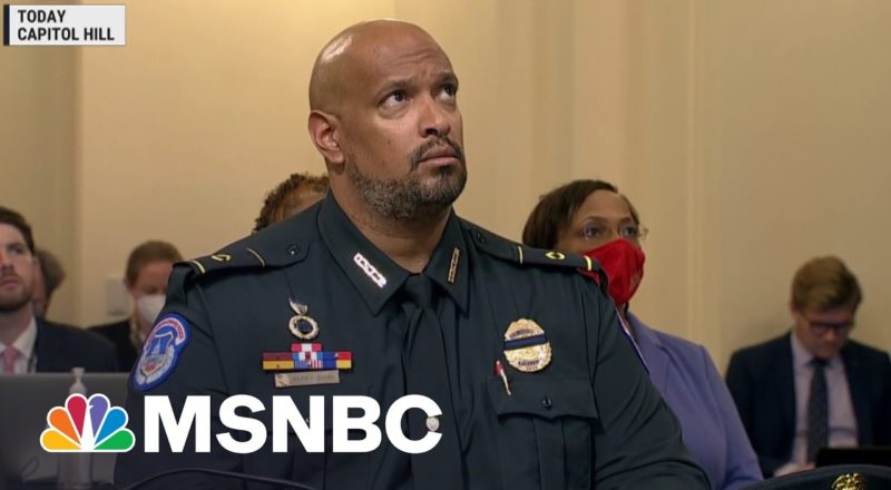 Capitol Officer To Jan. 6 Committee: This Is America 6