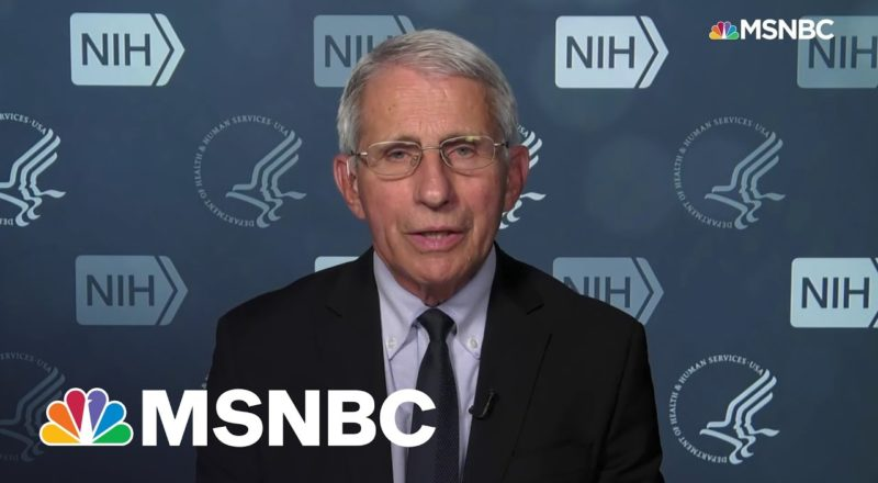 Dr. Fauci Explains Updated Mask Guidance For Vaccinated Folks 1