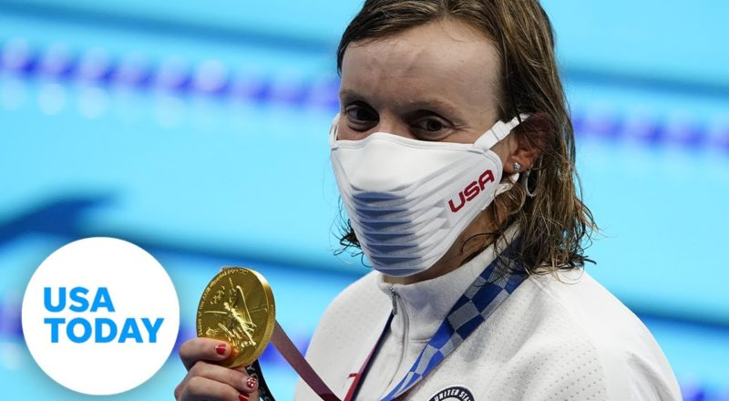 Simone Biles out of all-around, Katie Ledecky gets gold, Thursday Caeleb Dressel swims| USA TODAY 6
