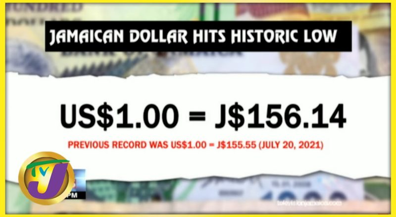 Jamaican Dollar Hits Historic Low | TVJ Business Day - July 27 2021 1