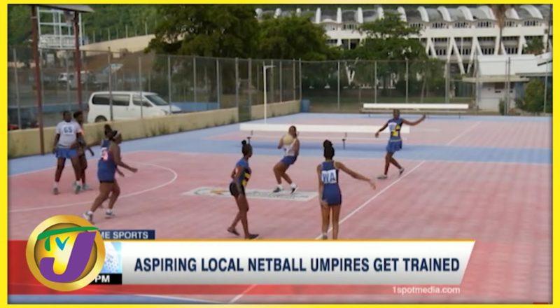 Aspiring Jamaican Netball Umpires Get Trained - July 27 2021 1