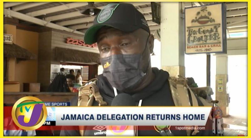 Reggae Boyz Back in Jamaica - July 27 2021 1
