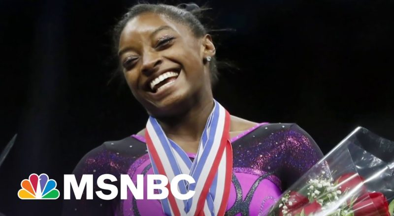 Simone Biles 'Has Nothing To Prove To You'   MSNBC 1