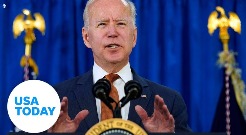 President Biden delivers remarks on COVID-19 vaccination efforts   USA TODAY 2
